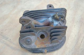Harley Davidson Knucklehead Engine Cylinder Head Rear 1936 1937