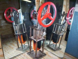 Hot Air Stirling Engine Fan by Al Cool Fan Company