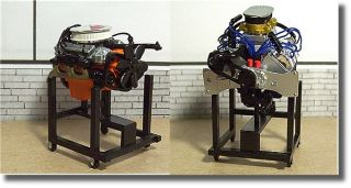 24 Parts Big Block Ford and Chevrolet Diorama Display Engines