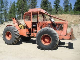 1974 Timber Jack 404 Log Skidder 4x4 Off Road Tractor
