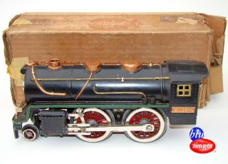 Standard Gauge No 384E Locomotive Steam Engine Model Train