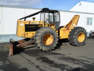 John Deere 740 Log Skidder ** Watch Video ** Located in Oregon **
