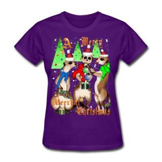 Merry Meerkat Christmas and snow T Shirt 6658935