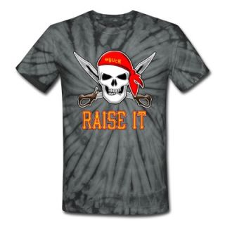RAISE IT jolly roger T Shirt 10177974