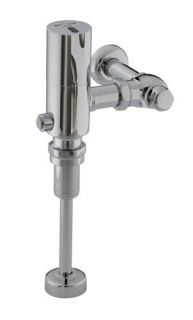 Kohler K 10668 CP Wave Dc 1/8Th (0.125) GPF Flush Valve, Polished