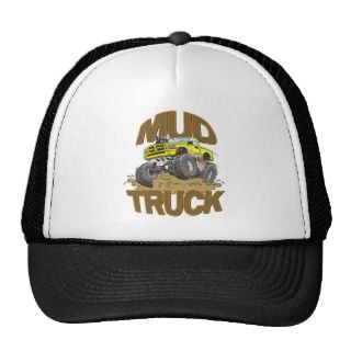 Schlamm LKW Dodge Baseball Caps